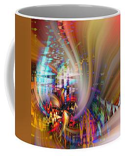 Santa Dogs Coffee Mug by Cathy Donohoue