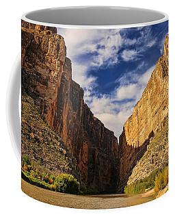 Santa Elena Canyon 3 Coffee Mug