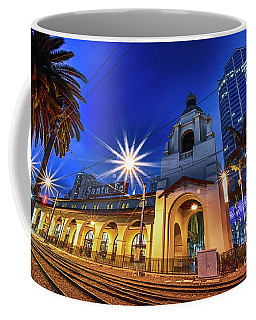 Santa Fe At Night Coffee Mug