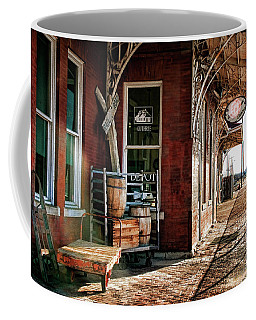 Santa Fe Depot Of Guthrie Coffee Mug