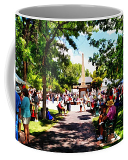 Coffee Mug featuring the photograph Santa Fe New Mexico by Joseph Frank Baraba