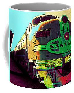 Santa Fe Railroad New Mexico Coffee Mug