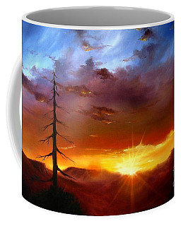Santa Fe Sunset Coffee Mug