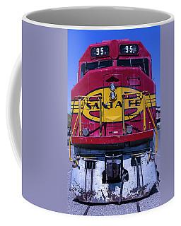 Santa Fe Train Head On Coffee Mug