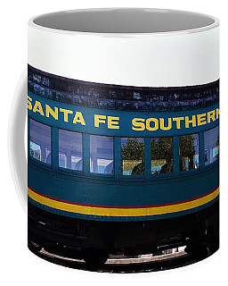 Santa Fe Train Coffee Mug by Joseph Frank Baraba