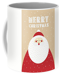 Coffee Mug featuring the digital art Santa Merry Christmas 2 by Christopher Meade