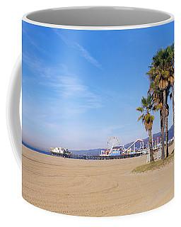 Santa Monica Beach Ca Coffee Mug