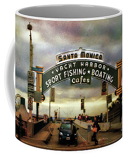 Santa Monica Beach Pier Coffee Mug