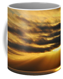 Coffee Mug featuring the photograph Santa Monica Golden Hour by Kyle Hanson