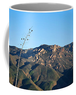 Coffee Mug featuring the photograph Santa Monica Mountains View  by Matt Harang