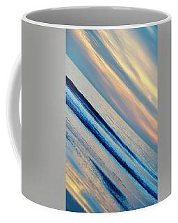 Coffee Mug featuring the photograph Santa Monica Sunset by Kyle Hanson