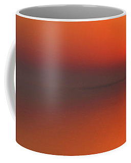 Santa Rosa Sound Sunrise Minimalism Panoramic Coffee Mug