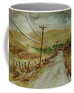 Coffee Mug featuring the painting Santa Teresa County Park California Landscape 3 by Xueling Zou