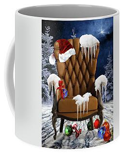 Santa's Chair Coffee Mug by Mihaela Pater