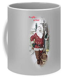 Santa's Checklist Coffee Mug