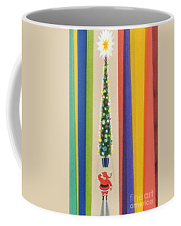 Santa's Christmas Tree Coffee Mug