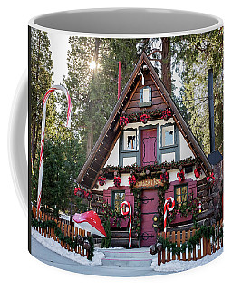 Santa's House Coffee Mug