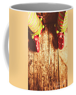 Santas Little Helper Coffee Mug