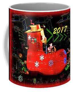 Santa's Magic Stocking Coffee Mug