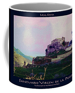 Santuario Virgen De La Pena Poster Coffee Mug by Robert J Sadler