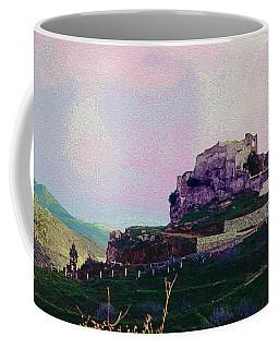 Santuario Virgen De La Pena Coffee Mug by Robert J Sadler