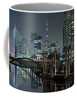 Sao Paulo Bridges - 3 Generations Together Coffee Mug