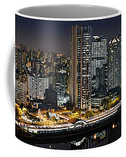Sao Paulo Iconic Skyline - Cable-stayed Bridge  Coffee Mug