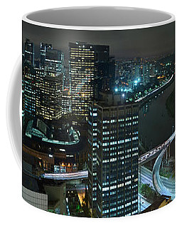 Sao Paulo Skyline Modern Corporate Districts Brooklin Morumbi Chacara Santo Antonio Coffee Mug