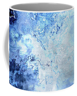 Sapphire Dream - Custom Version 2 - Abstract Art Coffee Mug
