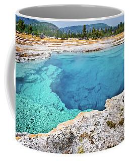 Sapphire Pool, Biscuit Basin Coffee Mug