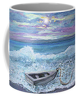 Coffee Mug featuring the painting Saquish Irish Rover by Rita Brown