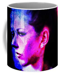 Coffee Mug featuring the digital art Sarah 2 by Mark Baranowski