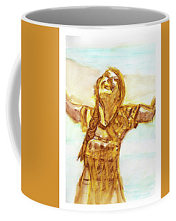 Sarah On The Beach Coffee Mug