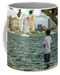Sarasota Bay Fisherman Coffee Mug