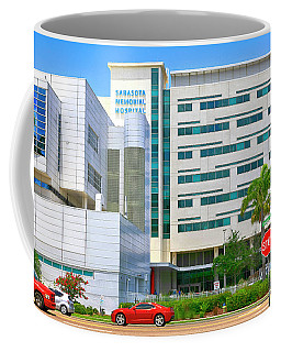 Sarasota Memorial Coffee Mug
