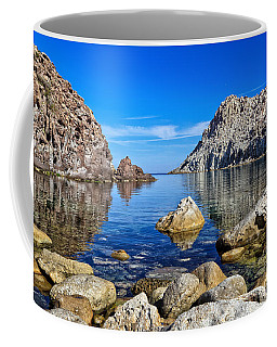 Sardinia - Calafico Bay  Coffee Mug by Antonio Scarpi
