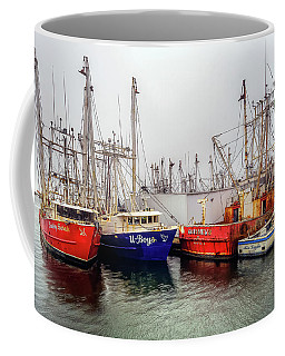 Coffee Mug featuring the photograph Sassy Sarah At Wanchese by Jerry Gammon