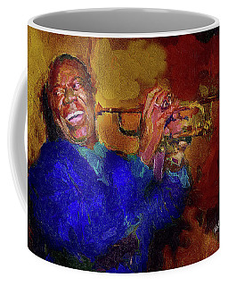 Satchmo Coffee Mug by Ted Azriel