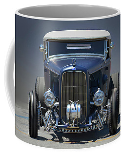 Coffee Mug featuring the photograph Satin Blue Deuce by Bill Dutting