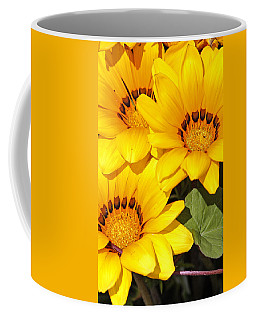 Coffee Mug featuring the photograph Satin Yellow Florals by E Faithe Lester