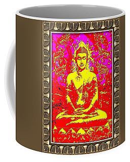 Satorian Buddha II Coffee Mug by Peter Gumaer Ogden