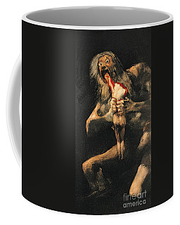 Saturn Devouring One Of His Children  Coffee Mug