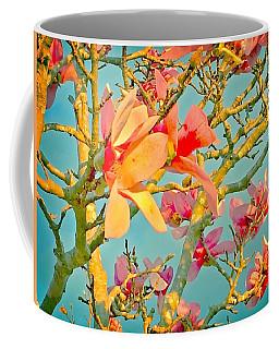 Saucer Magnolia Coffee Mug