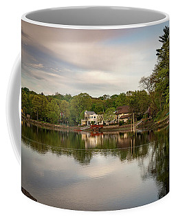 Saugatuck River Evening By Mike-hope Coffee Mug