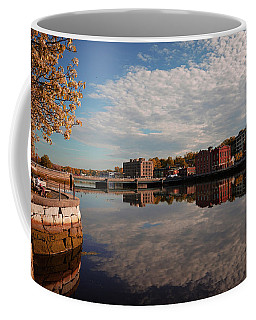 Coffee Mug featuring the photograph Saugatuck River - Westport by Michael Hope