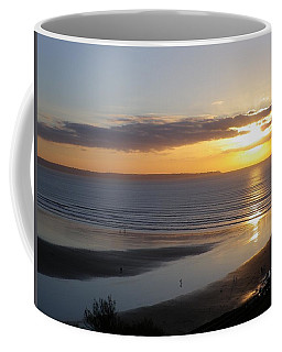 Saunton Sands Sunset Coffee Mug