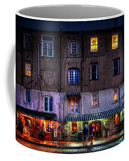 Savannah River Street Coffee Mug