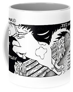 Save Myself Fpi Cartoon Coffee Mug