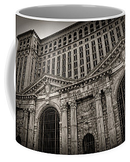 Save The Depot - Michigan Central Station Corktown - Detroit Michigan Coffee Mug