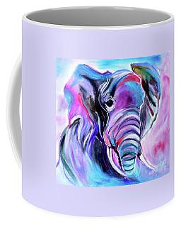 Save The Elephants Coffee Mug by Jenny Lee